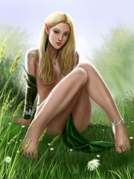 Elf pin up by dashinvaine