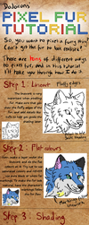 Pixel fur shading tutorial by DodoIcons