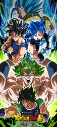 Dragon Ball Super -BROLY- by SayHelloBye