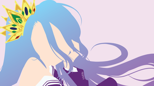 Shiro from No Game no Life | Minimalist by matsumayu