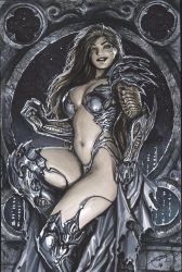 turner era witchblade commission by nebezial