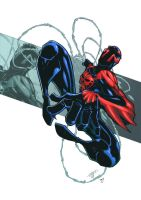 Spiderman 2099 by RecklessHero