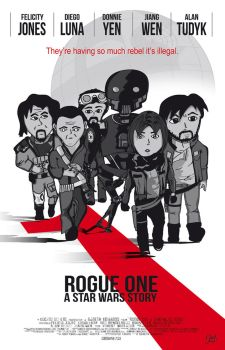 Rogue One Poster by PapiTrooper