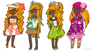 Flower Outfits by Pet-shop