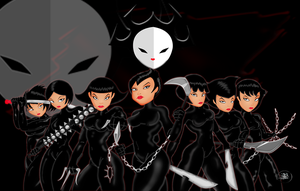 Daughters of Aku Complete Group by mystic-skillz