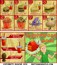 Our Future Fastfood Menus by Formidabler