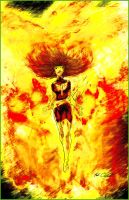Dark phoenix by Mark-Clark-II