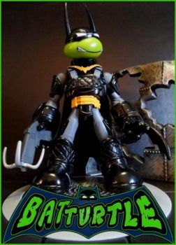 Bat Turtle by FigureHunterCustoms