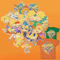 Ode To Arnold - 90's Are All That T-Shirt Contest by Air-City