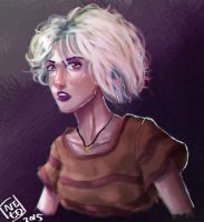 Sense8 Riley by lionheartslayerX