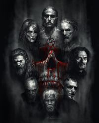 Sons of Anarchy Tribute by AlexRuizArt