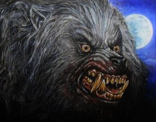 AN AMERICAN WEREWOLF IN LONDON    WOLF V1 by Legrande62
