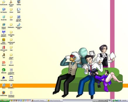 My desktop by androidgirl