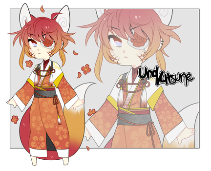 Adoptable:Kitsune (Closed) by joojooadopts