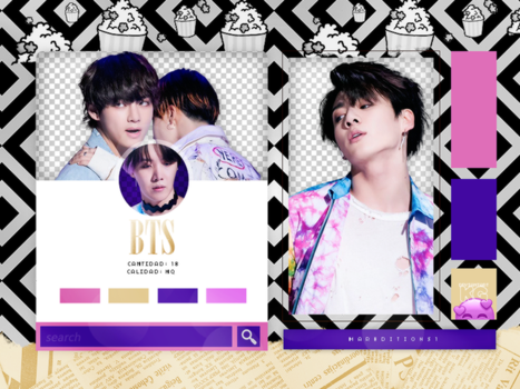 BTS | PACK PNG | FAKE LOVE PART 1 by KoreanGallery