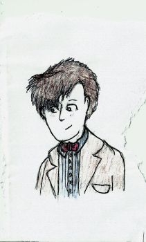 Eleventh Doctor by TrockingBird