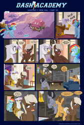 Dash Academy Chapter 7 - Free Fall #24 by SorcerusHorserus
