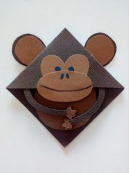 Monkey Corner Bookmark by DJ-INC