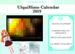 UlquiHime Calendar 2019 Pre-orders are open !!! by ksmile1313
