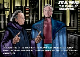 Star Wars: The cloak of Deception by James Luceno by mrinal-rai