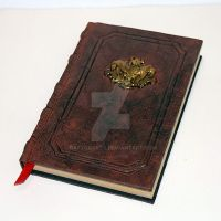 Diablo III Tome spellbook of Demonology grimoire by RaptorArts