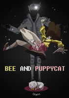 Bee And Puppycat by TaraGraphic