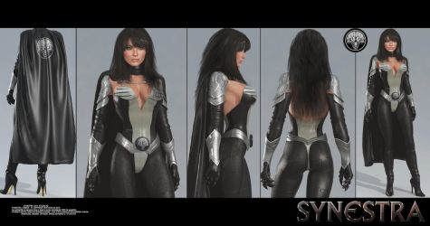 synestra uniform test by artdude41