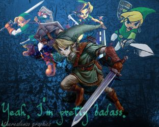 Link through the years by etherealemzo