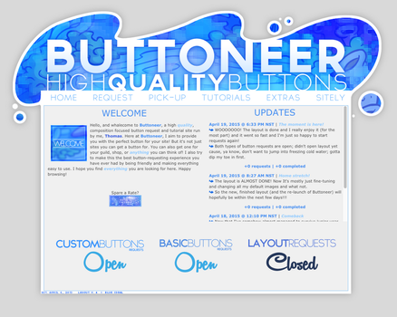 NEW Buttoneer Layout by o0Thomas0o