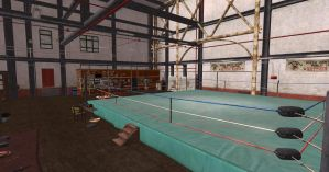 DOA5 Gym/Sweat Stage Scene XPS by Chrissy-Tee