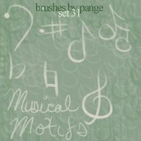 Set 31 - Musical Motifs by pange