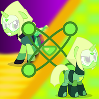 Crystal Gems - Peridot by MLP-TrailGrazer