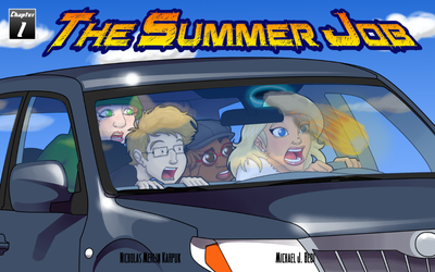 The Summer Job Chapter 1 Cover by MJBedi