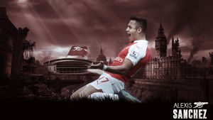 Alexis Sanchez 2015/2016 Wallpaper by RakaGFX