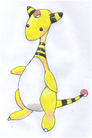 Ampharos by TheJewelOfIsis