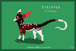 Zippercat: Stripped Adopt [CLOSED] by Immonia