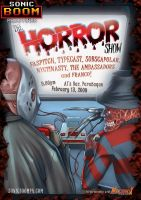 Sonic Boom Horror Show by mangaholix