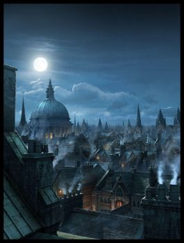 London Rooftops by Raphael-Lacoste