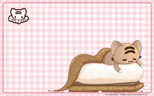 S'more Momocheet Wallpaper by lafhaha