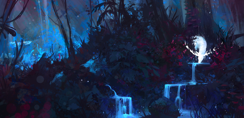 Enchanted Forest by AaronGriffinArt