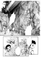 page in my manga Twin Kaiser by kinly