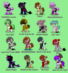 Pony Town Favs by macattackforever