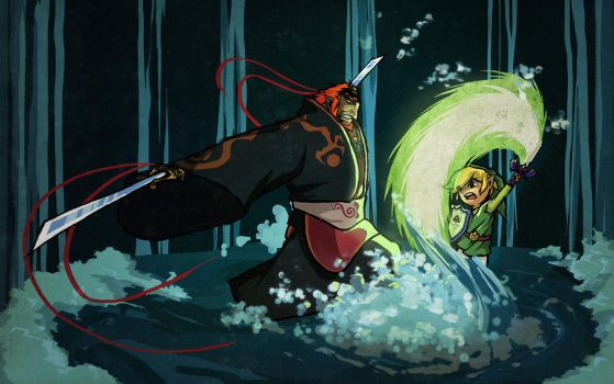 - Wind Waker - by coreymill