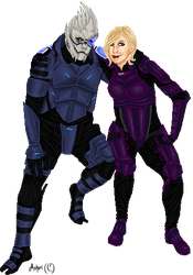 There is no Shepard without Vakarian by Ashuri
