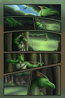Commission - On The Hunt - Page 2/5 by FireDragon97