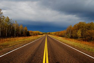 Nothing but Road by midnightstouchSTOCK