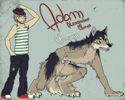 Adam by blackunia