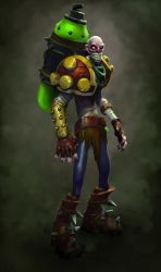 Singed Beauty by DevindraLeonis