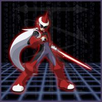 Protoman EXE by In-Sunity