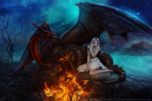 Mother of Dragons by kuschelirmel